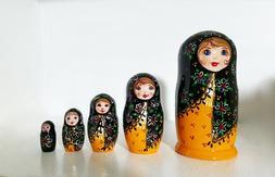 Unique Nesting Dolls,Hand painted Matryoshka,babushka childr