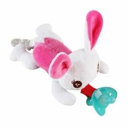Useful Baby Kids Pacifier Holder Hanging Removable Plush Ani