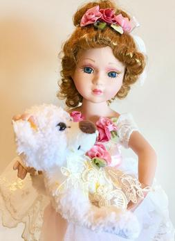 Victorian Porcelain Doll-Limited Edition Collectible Dolls B