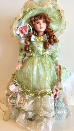 Victorian Porcelain Doll- Limited Edition Collectible Porcel