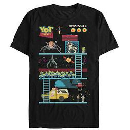 Toy Story Video Game Doll Spider Mens Graphic T Shirt