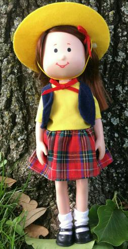 Vintage 1998 Madeline & Friends- CHLOE DOLL #33420 by Eden