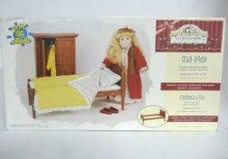 Vintage 1998 The Springfield Collection Wooden Rope Bed For