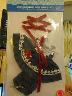 """VINTAGE VOGUE DOLL CLOTHING PACK NEW Fits 7 1/2"""" GINNY NAVY"""