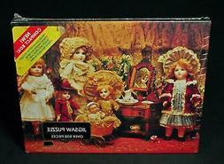 Vintage Springbok Fancy Frilly Dolls 500-Piece Jigsaw Puzzle