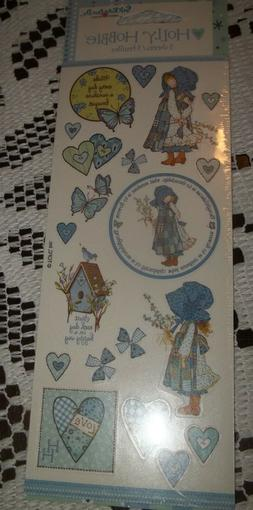 Vintage MIP 3 Sheets Holly Hobbie Stickers 2004 Stickety Doo