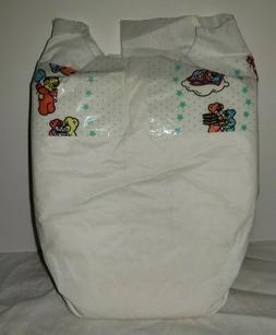 Vintage Plastic Back Pampers Baby Diapers Newborn Reborn Dol