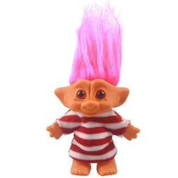Vintage Troll Dolls, Lucky Doll Chromatic Adorable for Colle