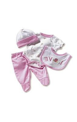 """Madame Alexander Wee Wonder Layette Set 19"""" Baby Doll Outfit"""