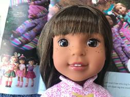 """American Girl Wellie Wishers Ashlyn 14.5"""" Doll   NWOB"""