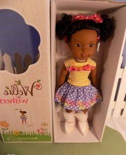 "American Girl Wellie Wishers Kendall 14.5"" Doll - Brand new"