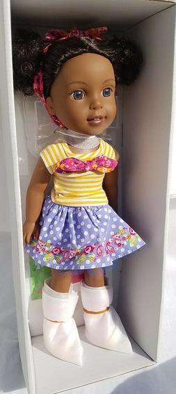 "American Girl WELLIE WISHERS KENDALL DOLL 14.5"" Doll - BRAND"