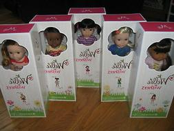 American Girl WELLIE WISHERS welliewishers 5 Doll SET Emerso
