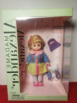 "WENDY LOVES HELLO KITTY CITY MADAME ALEXANDER 8"" DOLL NRFB!!"