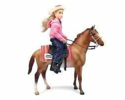Western Horse & Rider Doll Set Fully Articulated Great Gift