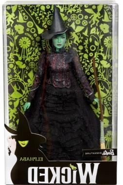 WICKED ELPHABA WITCH BARBIE DOLL 2018- New - Free Shipping!!