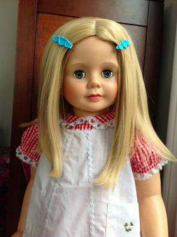 """wig for PATTI PLAYPAL 36"""" doll GOLDEN BLONDE - NEW - doll pa"""