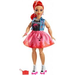 Wild Hearts Crew Jacy Masters Doll with Roller Skates & Styl