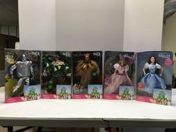 Wizard Of Oz 1999 Barbie Dolls ~Complete Set Of 5~ New NRFB~
