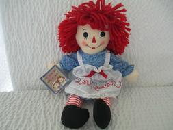 "Aurora World Raggedy Ann Classic Doll 16""  Free Shipping MPN"