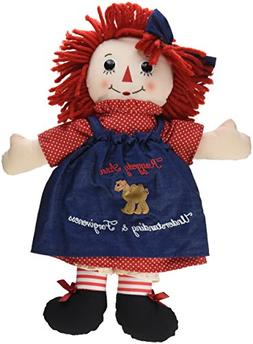 Aurora World 15478 Raggedy Ann Classic Doll, Large, Multicol