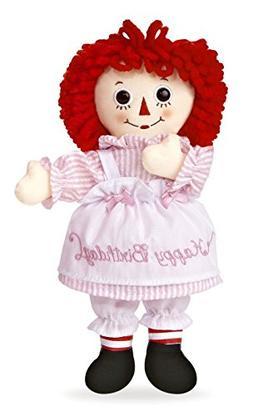 """Aurora World Raggedy Ann Happy Birthday Doll, 10"""""""