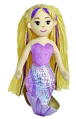 "Aurora World Sea Sparkles Serena Mermaid 10"" Plush"