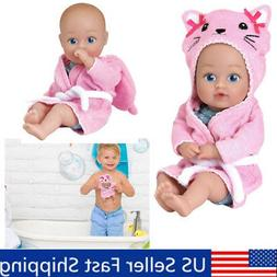 XMAS Gifts for  1/2/3/4 Years Old Washable Bathtub Dolls to