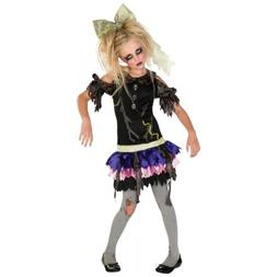 Zombie Doll Costume Halloween Fancy Dress